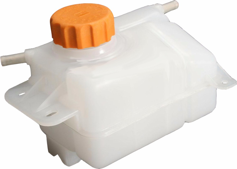 Coolant Overflow Reservoir Bottle Tank for 03-08 Chevy Corsa 2 Outlets, w//AC