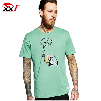 aeb89df561376 Soft-touch 100% Cotton Animal Silk Screen Printing T Shirt With Custom  Bottom Label - Buy Cotton T Shirt,Printing T Shirt,Soft-touch T Shirt  Product ...