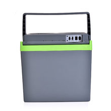 Автомобильный холодильник 25 л, 220 В/морозильная камера 12 В, мини-холодильник для дома, небольшой холодильник двойного назначения, холодильна...(Китай)