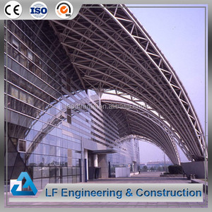 Long-Span Steel Building Space Frame Roof for Exhibition Hall