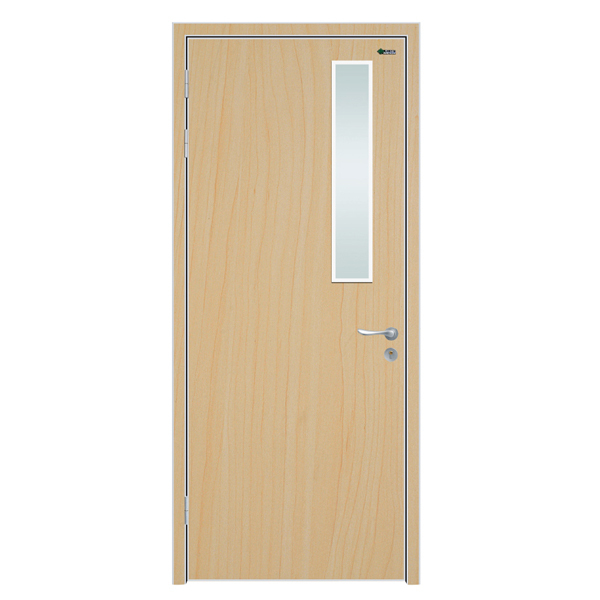 Interior office door with tempered glass window buy for Office doors with windows