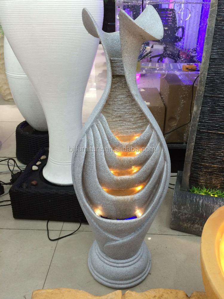 resina de fuente de agua de interior para la venta producto fengshui chino