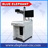 BLUE ELEPHANT 20w Mini Fiber Laser Marking Machine e for Mewellery , Metal
