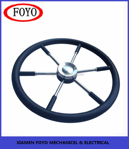 Diameter 550mm Marine boats 6 spoke wheel