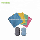 kitchen cleaning kit Microfiber cleaning cloth and microfiber scouring pad
