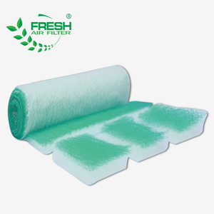 painting booth filter G2-G4/EU2-EU4 Fiberglass air filter with certified EN779(Manufacturer)