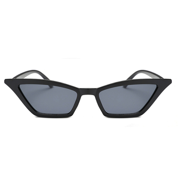 New Trend Cat Eye Lady Personality Small Frame Glasses Transparent ...