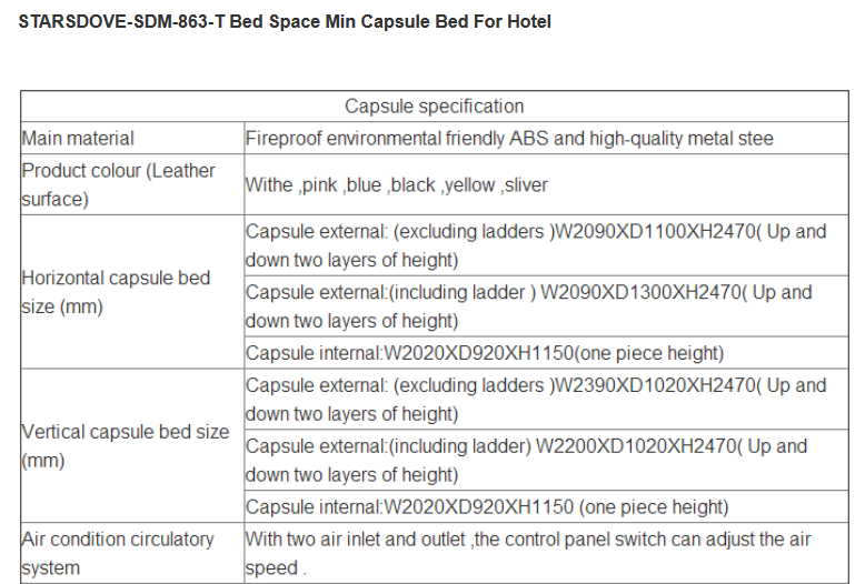 Chinese Factory Supply Capsule Hotel/Sleeping Pods/Modern Capsule sleeping pod