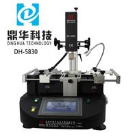 Dinghua DH-5830 bga rework reballing machine manual smt pick and place digital preheater station