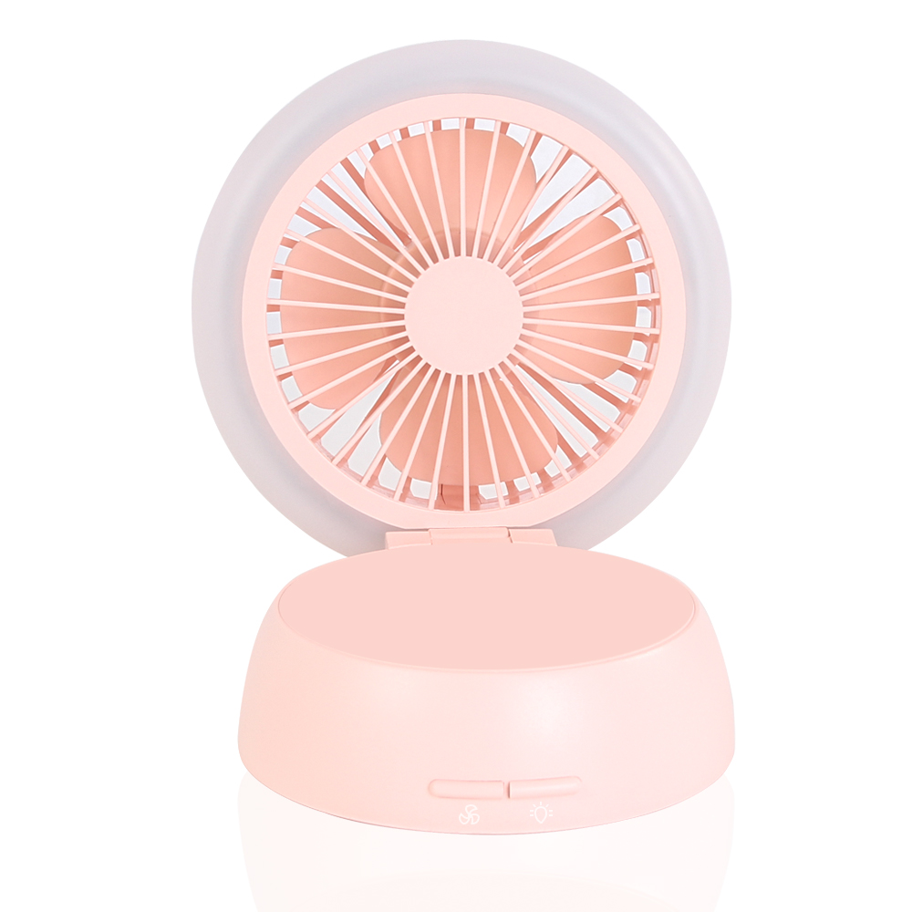 Portable Handheld Mini USB <strong>Fan</strong> with LED light 2019