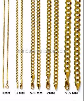 8519a2188bb3 Acero inoxidable cubano cadena de oro cubano Collar para hombres de las  mujeres
