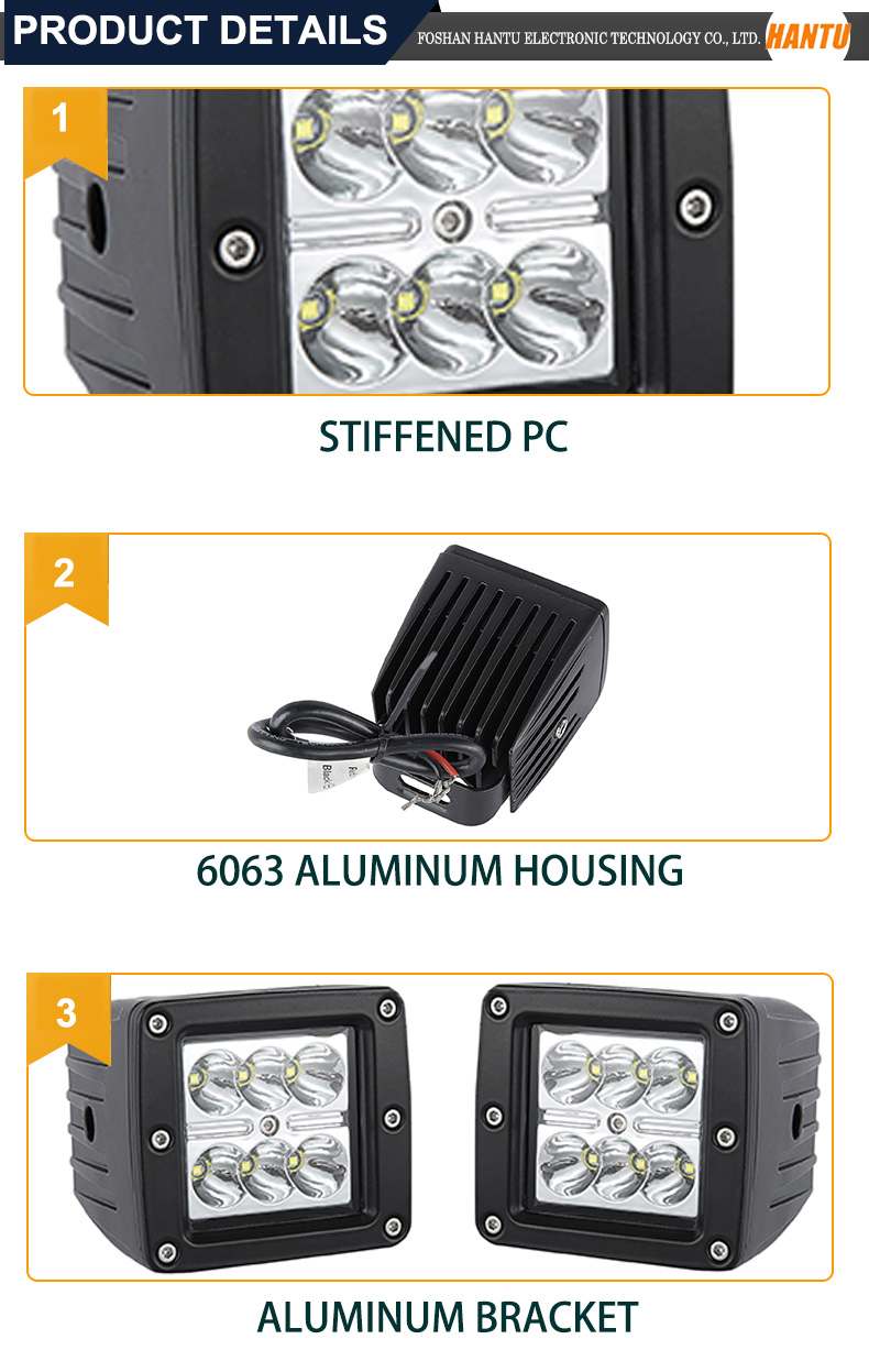 heavy duty thin super bright led work light