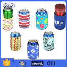 Top Quality Promotion Neoprene Beer Can Holder Cooler Bags