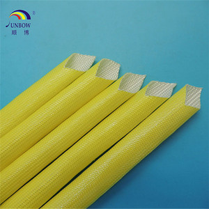 Class F 155C Acrylic Fiberglass Sleeve For Household Electrical Appliances