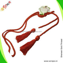 Red curtain tassel tieback, rayon rope tassel for curtain