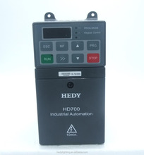 UL certificated low price 0.75kw ac motor speed control vfd /ac drive with export standard pack