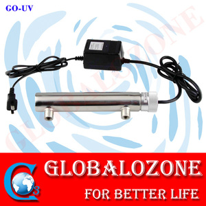 Stainless Steel 1GPM Drinking 10W Ultraviolet Water Sterilizer with UV Germicidal Lamp