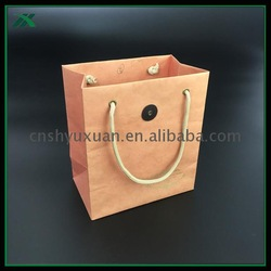 Different sizes sportswear paper bags eco-friendly with handles