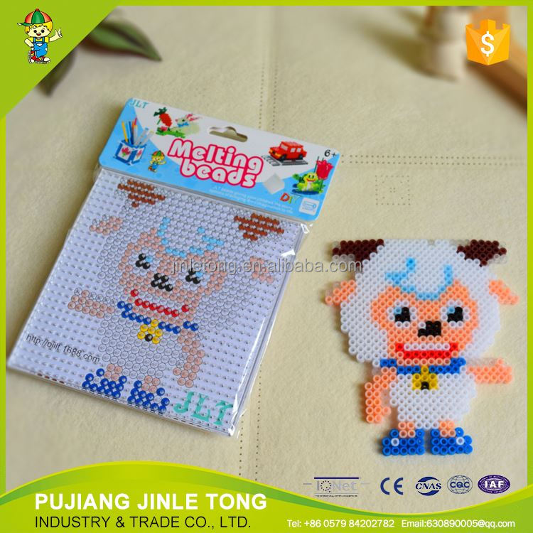 christmas novelty gifts 5mm diy handmade educational kid toy perler hama beads
