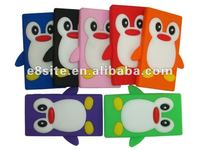 For Apple iPod Nano 7 Penguin Silicone Case