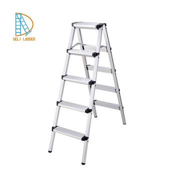 Two Sided Aluminium Fold Up Kitchen Step Ladder - Buy Fold Up  Ladder,Kitchen Step Ladder,Two Sided Step Ladder Product on Alibaba.com