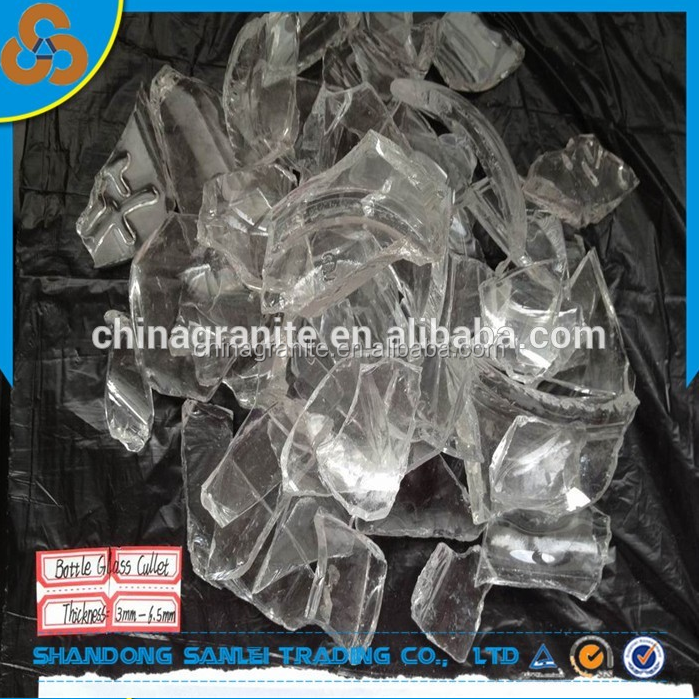 Clear bottle glass cullet factory price