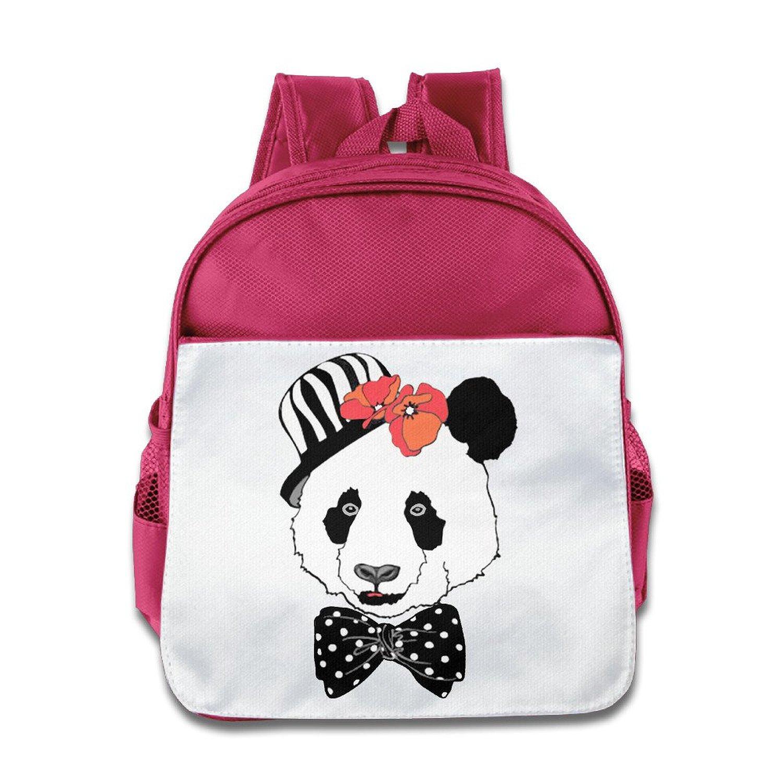 7386f2e127a8 Get Quotations · I Love Panda Girl Kids School Backpacks Cool