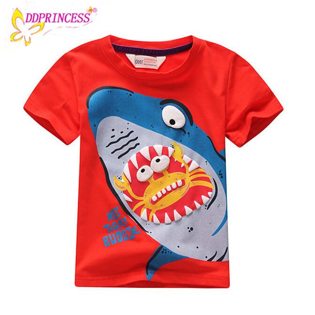 cbe59401a New Style Children Boy Clothing Colorful Baby Boy T Shirt Cartoon ...