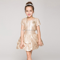 garment prom European dress girls pattern baby frock designs summer casual style