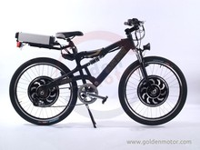 Dual Driver Sport e bike / Electric mountain bicycle with Magic pie 4 / Magic pie 5 motor new Sine Wave controller built in.