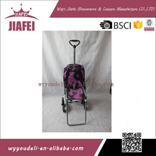 Factory direct sale high quality cheap price leisure shopping cart with seat