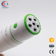 sunscreen packaging roller ball applicator bpa free cosmetic test gel applicator plastic roller ball tube with brush applicator
