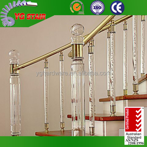 Indoor Stair Crystal Railing