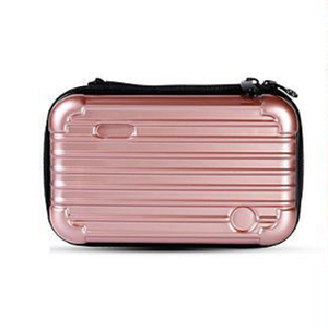 elegant beautiful new design fashion luxury woman cosmetic bags hard bag waterproof travel makeup toiletry cases