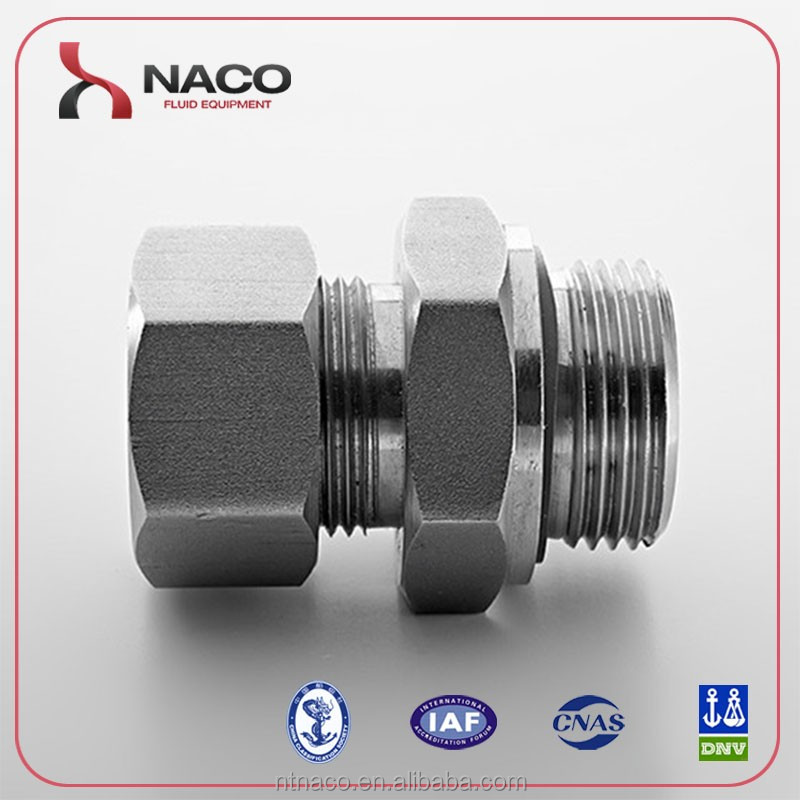 Naco Forged Male Connector Union Coupling SS316 made in China