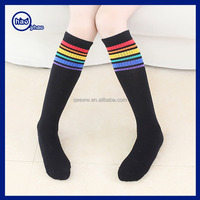 Yhao five -toes knitted striped stocking