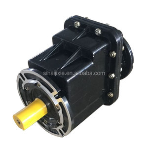 electric motor reduction gearbox vehicle gearbox