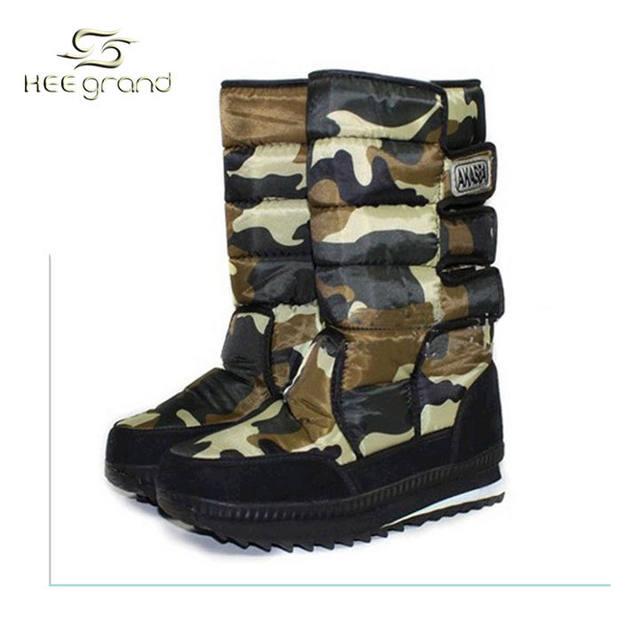 Hot Sale Men's Cool Snow Boots For Winter Two Colors