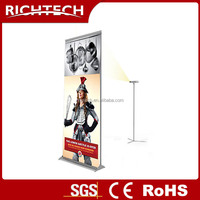 Custom size aluminum advertising display roll up projection banner