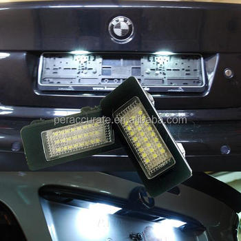 PA OBC Error Free 24 LED 1 Series E82 E88 F20 for BMW License Plate Light