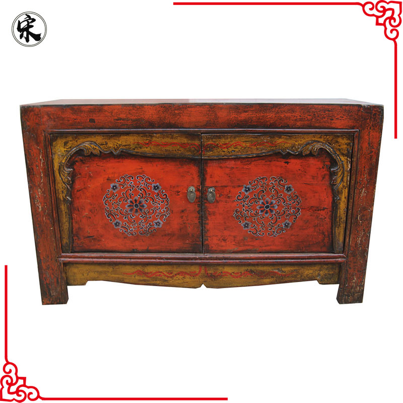 Antique Furniture China Mongolian Hand Painted Furniture