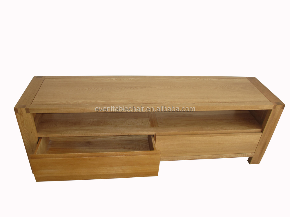 Simple Design 2 Drawer Tv Stand Of Soild Wood Furniture