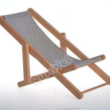 miniature chaise de plage pliante personalisable