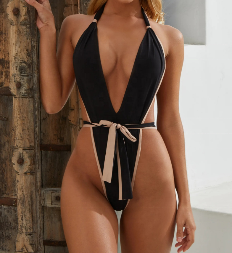 2019 Latest Design Women Bandage One Piece <strong>Swimsuit</strong> <strong>Sexy</strong> Fashion Brazilian Bikini