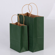 Commercio all'ingrosso di Lusso di Marca Famosa Regalo Personalizzato Stampato Kraft Shopping Bag di Carta