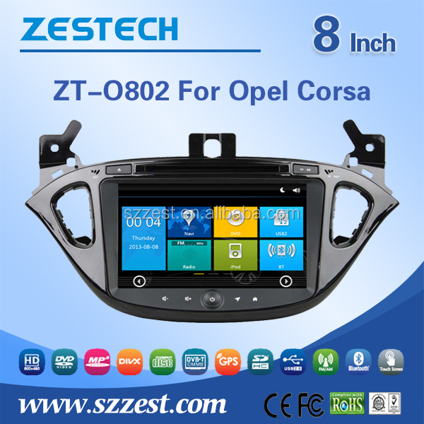 Win8 Car DVD GPS For OPEL CORSA 2015 for Opel Corsa car DVD GPS Navigation Central Multimidia GPS