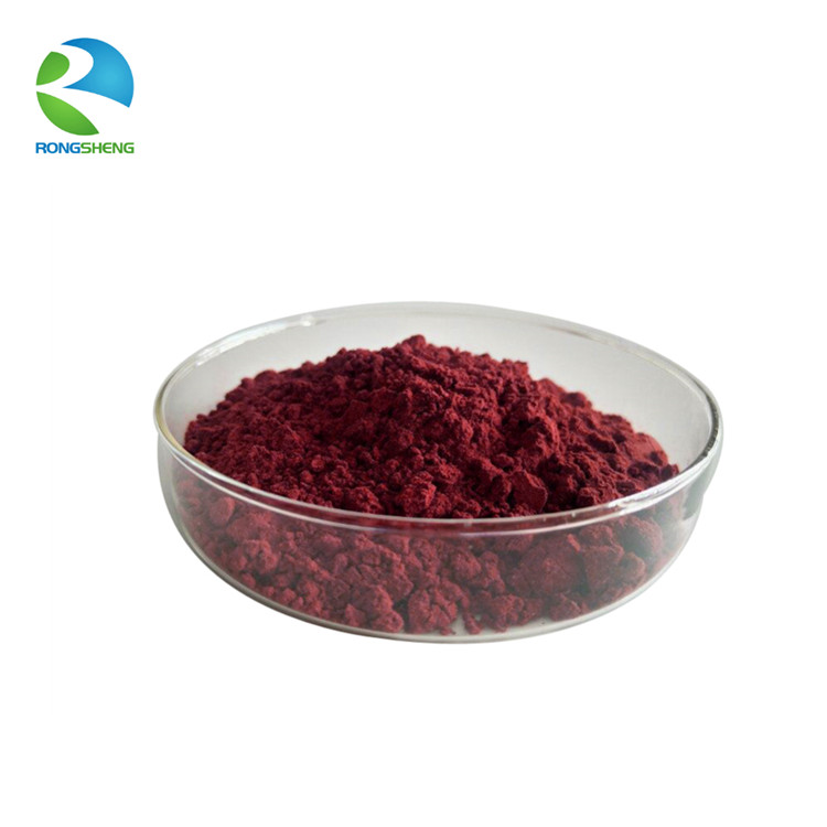 100% Pure Natural CWS Kosher Haematococcus Pluvialis Extract 3% 5% 10% Astaxanthin <strong>Powder</strong>