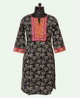 Elegant Printed Cotton Kurti At Wholesale Price Online