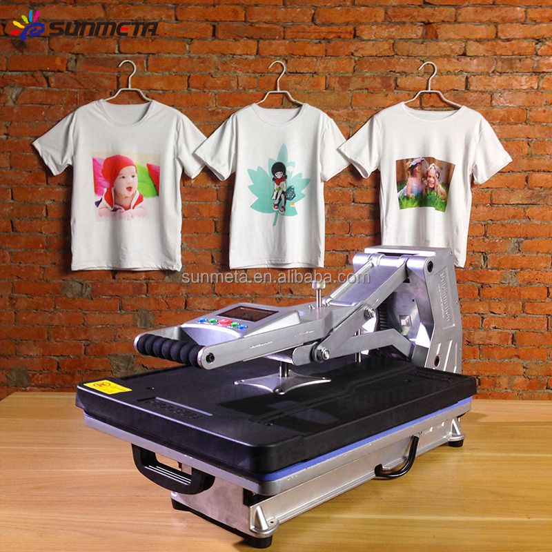Sunmeta 2015 newest drawer type t shirt heat press machine for Cheapest t shirt printing machine