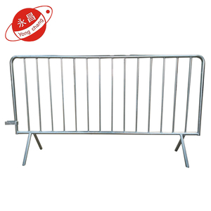 Latest technology galvanized cheap control barrier for crowds
